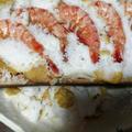 【BBQ】Wood Plank(ウッドプランク)でエビの塩釜焼のレシピ。| お正月で残ったエビをリメイク