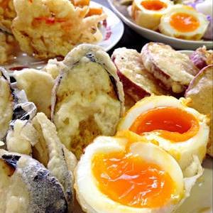 トッピングやおつまみに!「卵の天ぷら」を作ってみよう♪