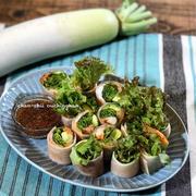 【レシピ】免疫力アップレシピ♪食べ応えあり♡大根の生春巻き♪ と 友達。