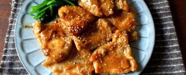 ごはんがすすむ!「にんにくしょうが焼き」でスタミナアップ
