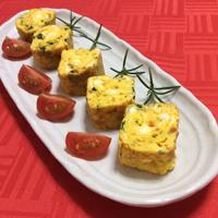 おせち料理にも、朝ごはんにも『混ぜ込み卵焼き』☆『丸美屋 • 混ぜ込みわかめ☆鮭』で ♪♪