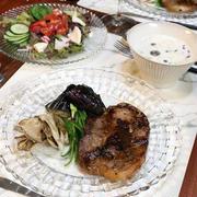 ◆豚ロースの醤油麹ソテーでおうちごはん♪~ゆるやか糖質制限中♪