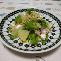 セリとグレープフルーツのサラダ