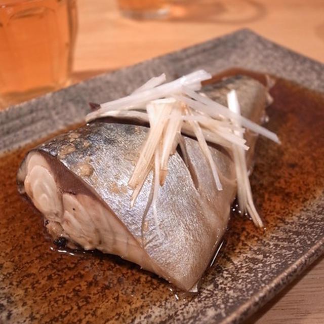カンタンさばの煮つけは、練り辛しがあう|日本酒研究