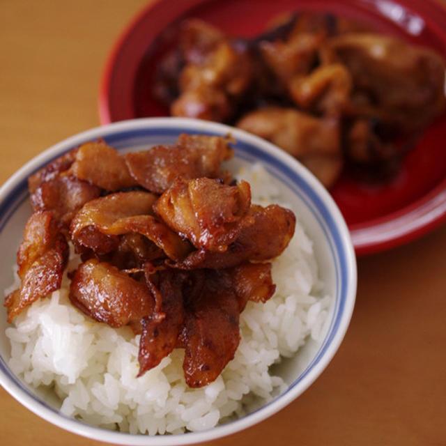 豚肉の甘辛元気焼き☆甘辛ガーリックの簡単がっつり肉おかず