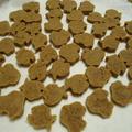 ほろほろ食感のきなこクッキー