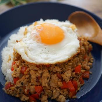 おうちで簡単タイ料理~ガパオライス