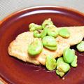 粉豆腐で桜鱒(サーモン)のムニエル。少しでも糖質を減らしたい方にお勧めおつまみ。