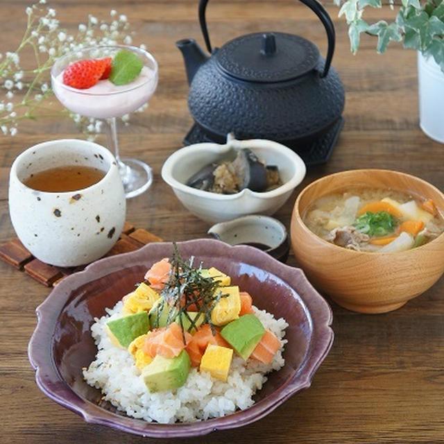 簡単すぎるサーモンとアボカドのお寿司