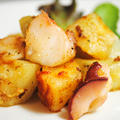 簡単シンプルで美味♪風味豊かなオリーブオイルと柔らかいたこが合う〜♪たこのスペイン(ガリシア)風 by うりぼうさん