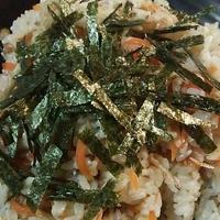 人参とごぼう♪炊飯器のみ!すし酢で根菜ちらし寿司