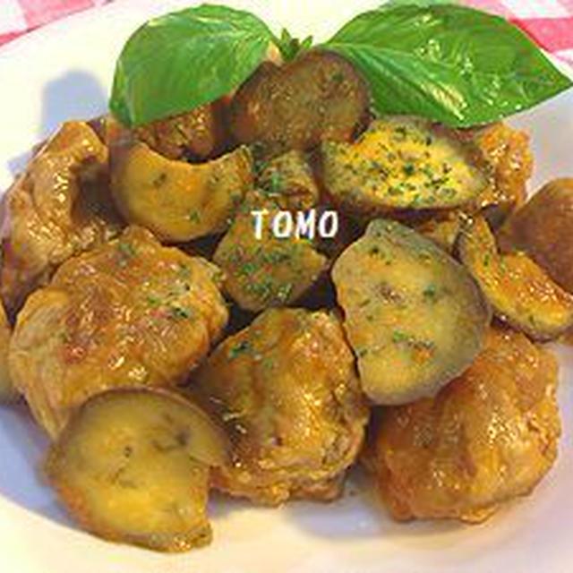 豚コマ肉団子とナスの「32種の野菜のとろ実」煮