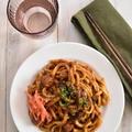 さくっと作れる!漢飯レシピ「レトルトでサクッと作れる!「焼きカレーうどん」」~マイナビニュースに掲載