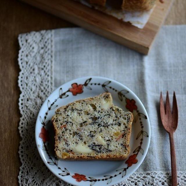 ひじきとチーズのおやつパン