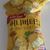 ★韓国で爆発的な人気もの「ハニーバターチップ」。