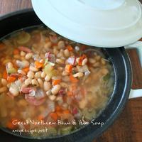 白いんげん豆のスープ/ うちの息子はどこまで凝るか