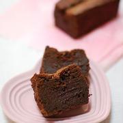 混ぜて焼くだけ濃厚チョコレートケーキ