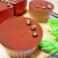 バニラ香る♡ふんわり濃厚チョコレートムース/バレンタインデーやおもてなしにも♡/ゼラチン不使用材料少なく超簡単♪