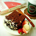 ♡ホイップde作る♪ラムレーズン入り♡濃厚チョコレートケーキ♡【HM*おもてなし】