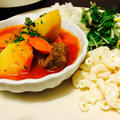 Hawaiian Beef Stew Plate Lunch by Ewayuriさん