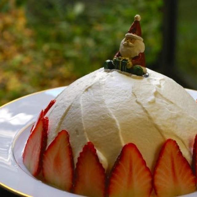 簡単にできる卵と乳製品を使わないクリスマスケーキ【レシピ】【ケーキ型不要】その1