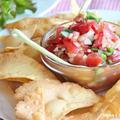 vol.22 Homemade Salsa & Chips by jyogsyaさん