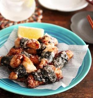 【レシピ】鶏むね肉で超簡単!おつまみにも最適磯辺揚げ♡#鶏肉 #鶏むね肉 #おうち居酒屋 #揚げ物 #節約