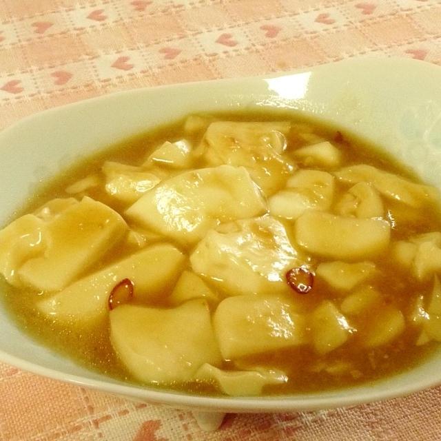 豆腐の田楽風煮物