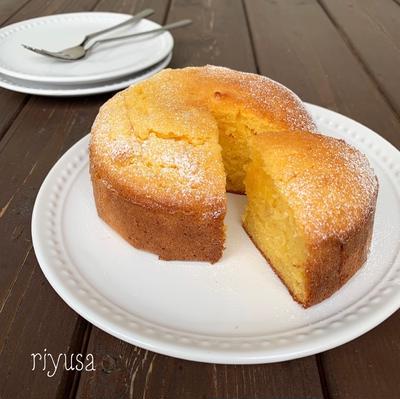 【超絶オススメおやつ】まるでカステラみたいなケーキ