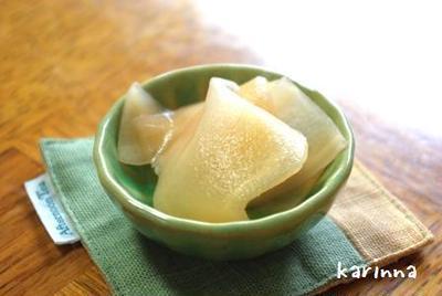 新生姜 甘酢漬け