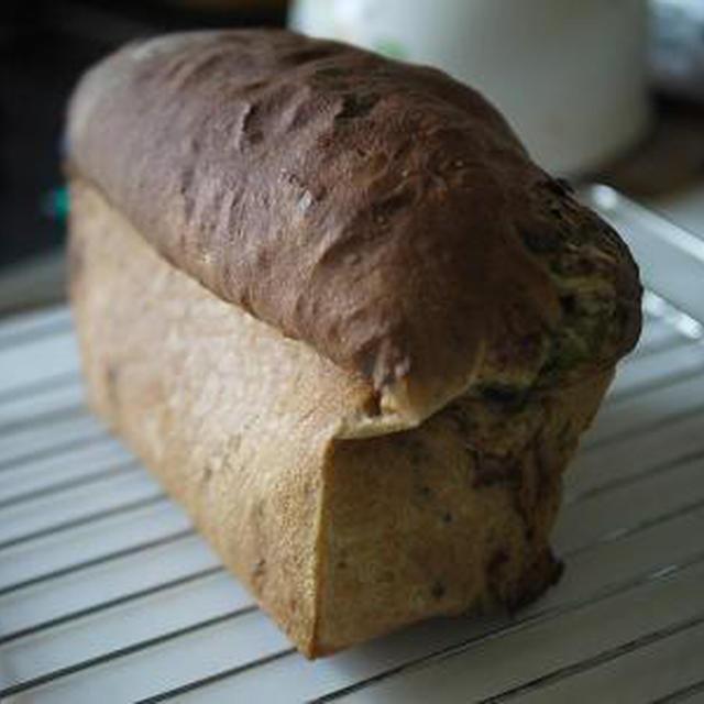 抹茶カスタードクリームのマーブルパン(小麦グルテン3%)