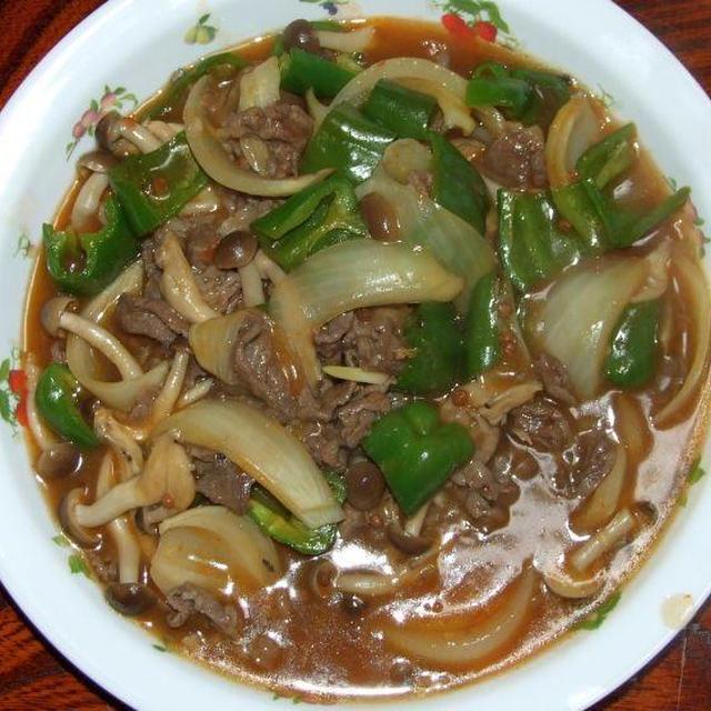 牛肉のピリ辛煮