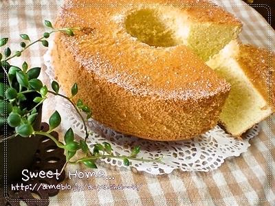 《ケーキ》*しっっとりふんわりノンオイルシフォン&ロール*