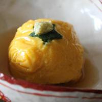 もっちもちかぼちゃ豆腐