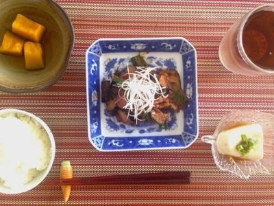 つく置きも可能☆夏野菜のニンニク肉味噌炒め