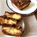 【手作り】しっとりフワフワ♪キャラメルマーブルのパウンドケーキ*アーモンドスライス
