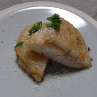 明太クリーミーチーズのレンコンはさみ揚げ