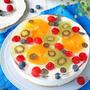 七夕や夏にピッタリ♪キラキラフルーツレアチーズケーキ