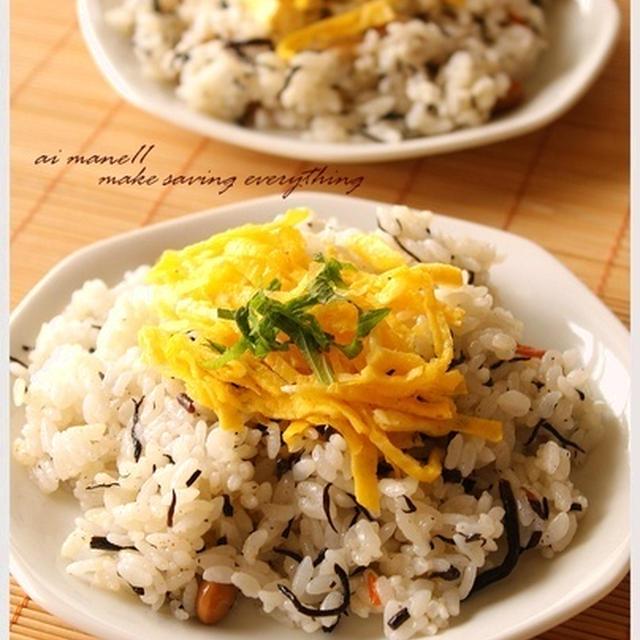 残ったひじき煮リメイク!ひじき煮のチラシ寿司
