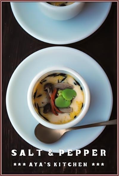 □■ ひじき煮と空豆★茶碗蒸し ■□