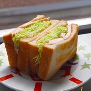 話題の沼サン♪キャベツサンドイッチ