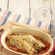 【お気に入りレシピ】イワシとトマトのハーブパン粉オーブン焼き