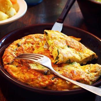 【I'Mセロリ大好きセロリスト】セロリを刻んでツナと炒めて卵と混ぜて焼いた「セロリツナオムレツ」がウマ死!!