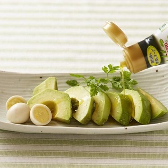 食卓で手軽にひとかけ!オリーブオイルメニュー(8月recipe)