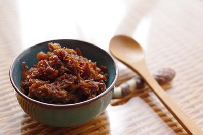牛バラ肉の佃煮