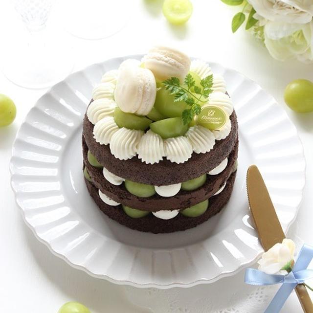 レシピ ケーキ シャイン マスカット