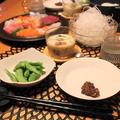 『手巻き寿司』の夜ごはん。