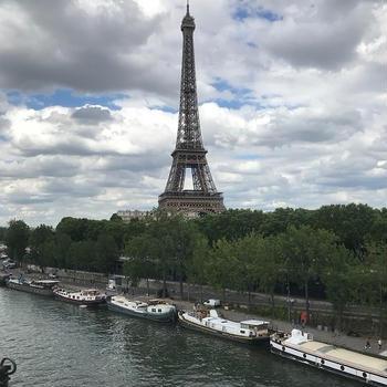 パリ・猛暑・クレープ