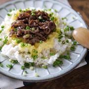 夏にオススメ!|スタミナレシピ|スパイスでおいしく食べてパワーアップ!絶品スタミナ料理|卵かけご飯|【牛肉スタミナTKG】