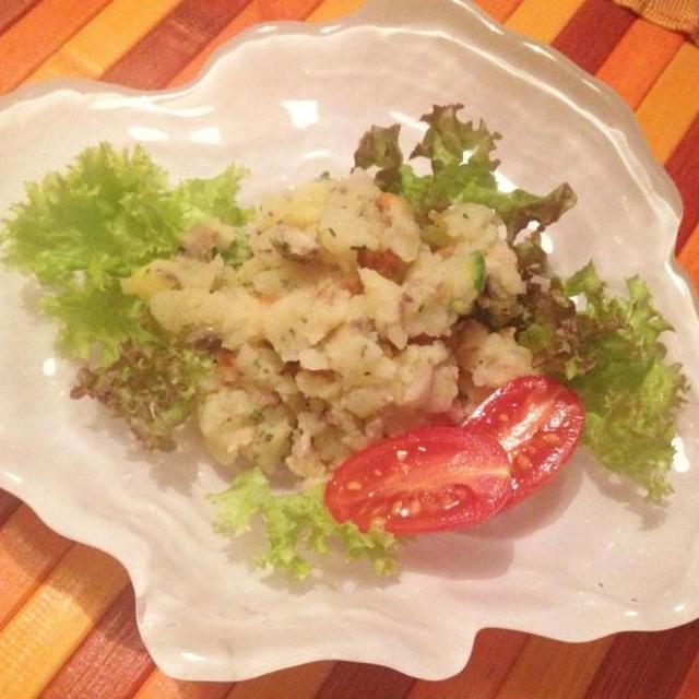 焼き野菜のインサラータルッサ アンチョビ風味